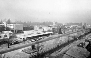 Bus Stop Café, Main Mall, 1956.  UBC Archives.